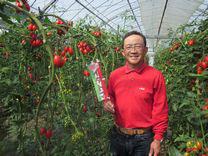トマトの農家 大久保孝芳さん