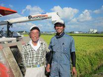 お米とキノコの農家 岡崎市東牧内町  三井敏幸さん、三井智志さん