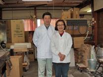 生麩、焼き麩の製造 岡崎市柱 麩屋藤商店 柵木卓三ご夫妻